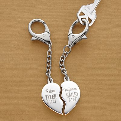 Better Together Heart Key Chain