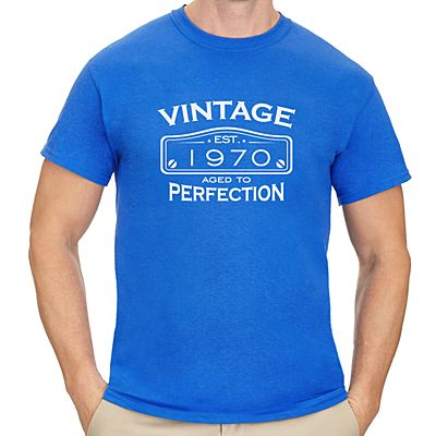 Men's Classic Vintage Birthday T-Shirt