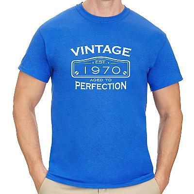 Men's Classic Vintage Birthday T-Shirt
