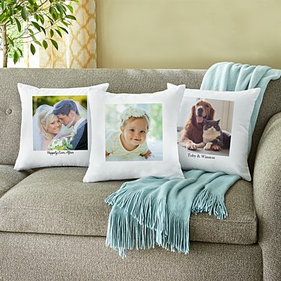 Picture Perfect Photo Throw Pillow