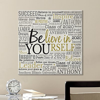 Believe in Yourself Canvas Art