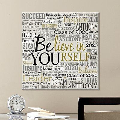 Believe in Yourself Canvas Art