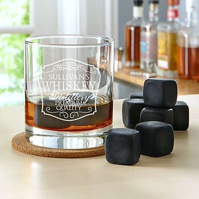 On the Rocks Whiskey Glass