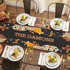 Pattern Pumpkin Table Runner