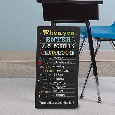 Classroom Rules Chalkboard