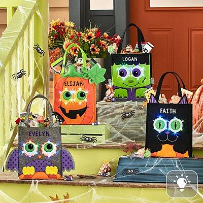 Light-Up Halloween Trick Or Treat Bag