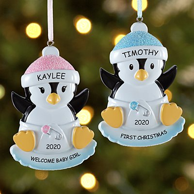 Baby Penguin Bauble