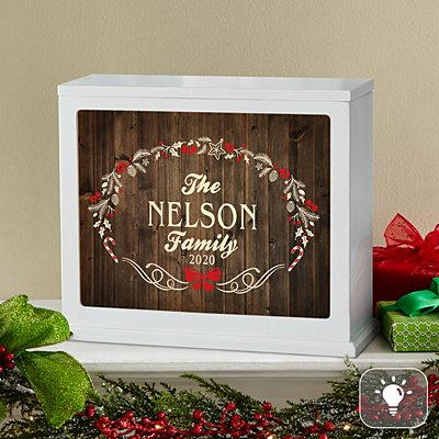 Rustic Christmas Accent Light