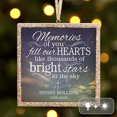TwinkleBright® LED Memories of You Ornament