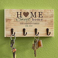 You Are Home Key Hook