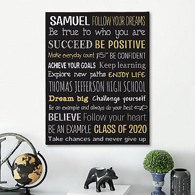 Words Of Wisdom Canvas