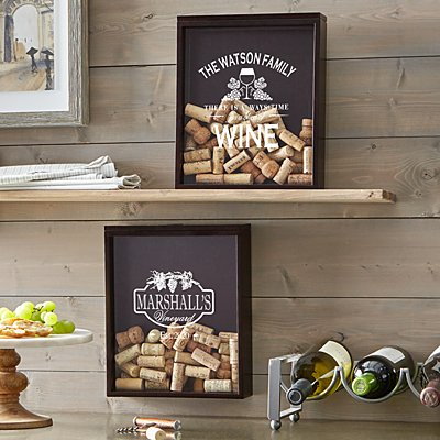 Wine Time Cork Display Box