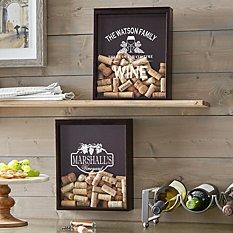 Wine Time Cork Display Box