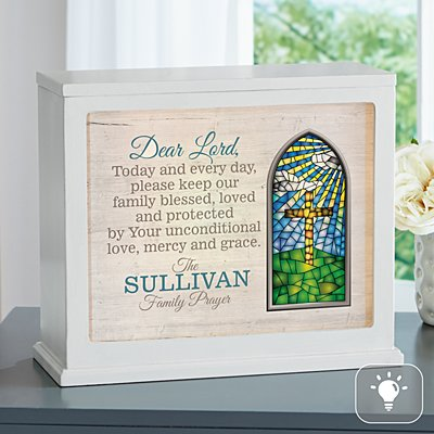 Family Prayer Accent Light