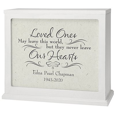Never Leave Our Hearts Memorial Accent Light