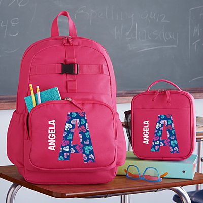 Pretty Pattern Pink Backpack Collection