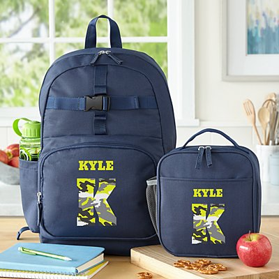 Their Own Name Navy Backpack Collection