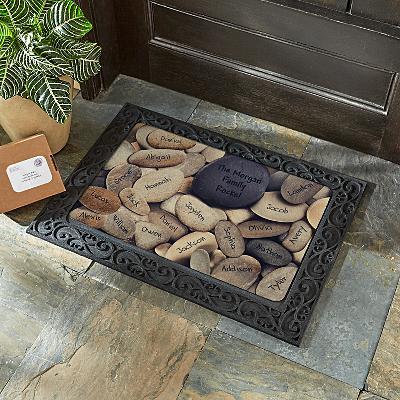 Family Rocks Doormat