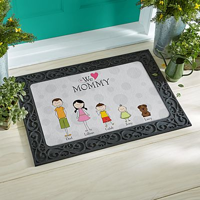 Tender Hearts Doormat
