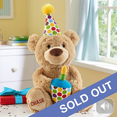 GUND® Happy Birthday Singing Bear