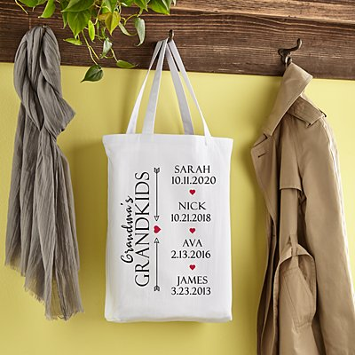 Grandkids Have Our Hearts Tote Bag