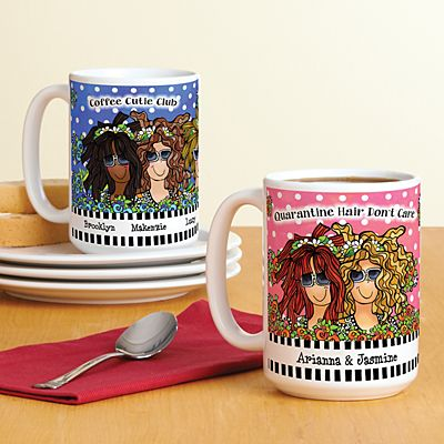 Name Your Sisterhood Mug by Suzy Toronto