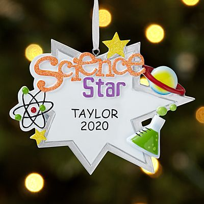 Science Star Ornament