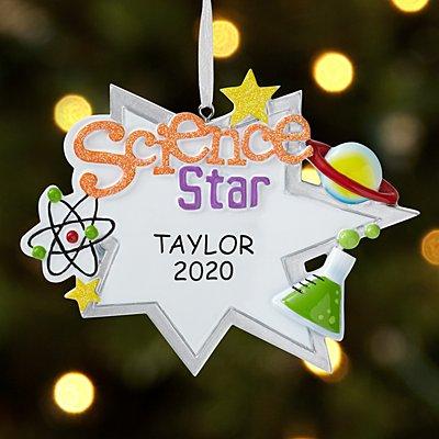 Science Star Ornament