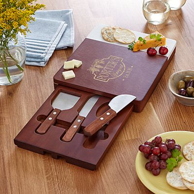 Vineyard Marble Wood Cheese Board