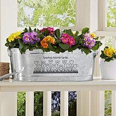 Tulip Garden Planter Tub
