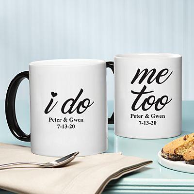 I Do, Me Too 11oz Mug Set