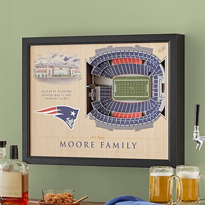 Stadium View 3D Wall Art