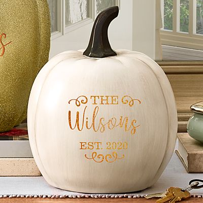 Light-Up Established XL Cream Pumpkin