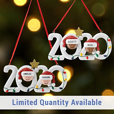 2020 Family Holiday Ornament