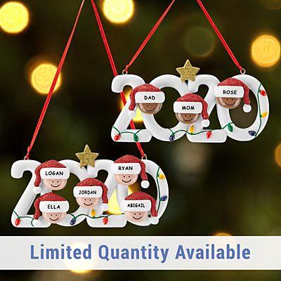 2020 Family Holiday Ornament