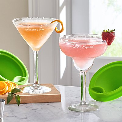 Margarita & Martini Fill & Freeze Glasses