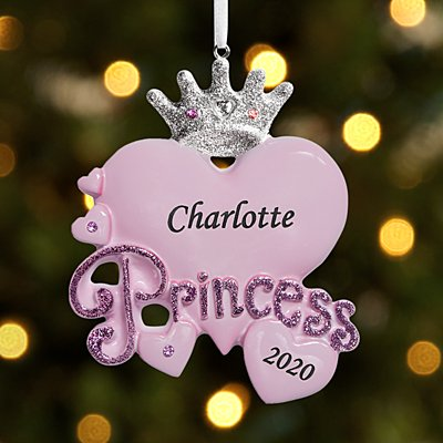 Princess Heart Ornament