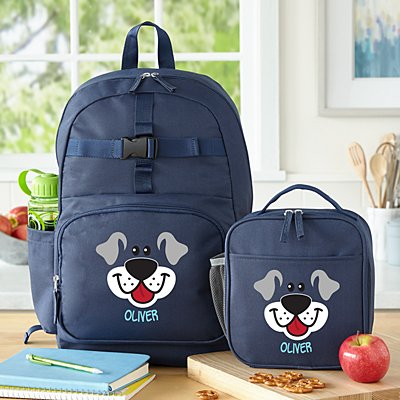 Big Face Navy Backpack Collection