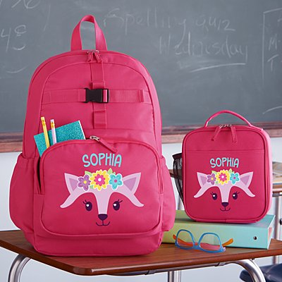 Big Face Pink Backpack Collection