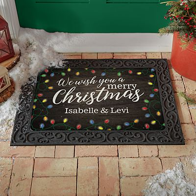 We Wish You a Merry Christmas Doormat