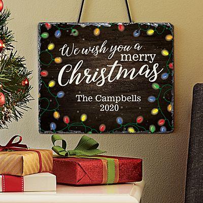 We Wish You a Merry Christmas Slate