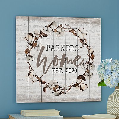 Homespun Oversized Wood Pallet Wall Art
