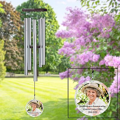 In Memory Photo Wind Chime