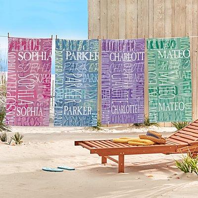 Signature Style Beach Towel