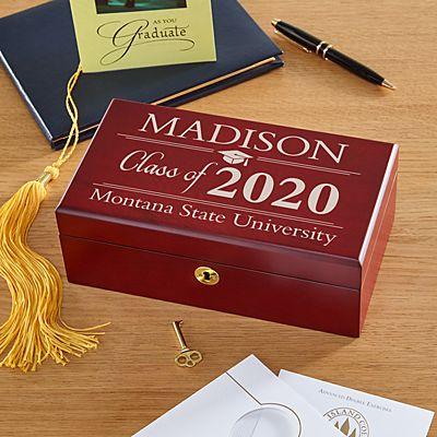 Graduation Wood Keepsake Box