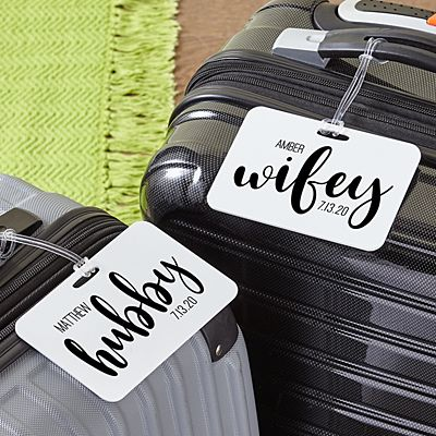 Better Half Luggage Tag