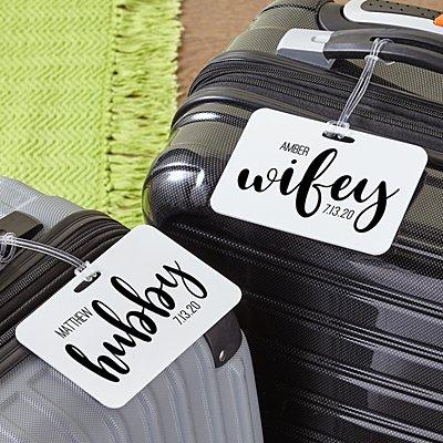 Better Half Luggage Tag