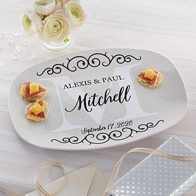 Celebrate Our Love Wedding Platter