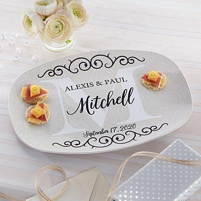 Celebrate Our Love Wedding Platter