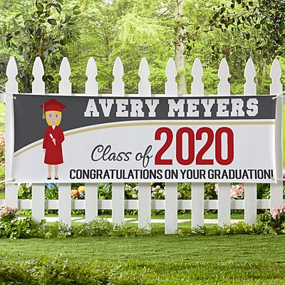 Graduation Character Banner